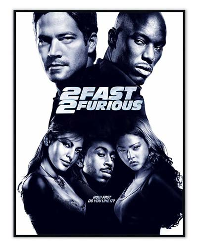 The Fast and the Furious plakater