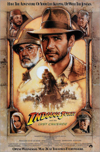 Premium-plakat Indiana Jones and the Last Crusade