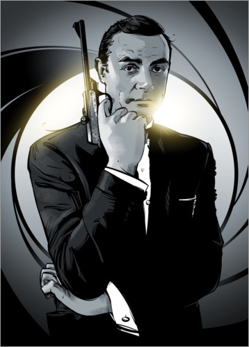Premium-plakat James Bond