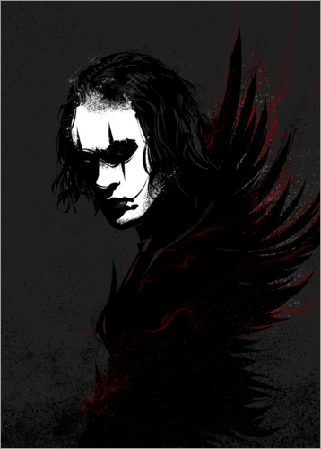 Premium-plakat The Crow