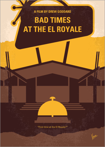 Premium-plakat Bad Times at the El Royale