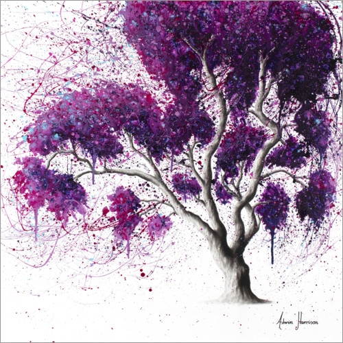 Premium-plakat Southern Purple Dream Tree