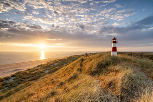 Premium-plakat Lighthouse List East on Sylt