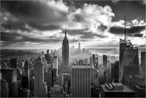 Premium-plakat Cloud Game Manhattan