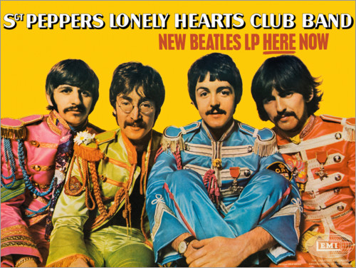 Premium-plakat Sgt. Pepper's Lonely Hearts Club Band