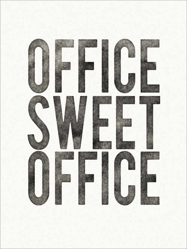 Premium-plakat Office Sweet Office