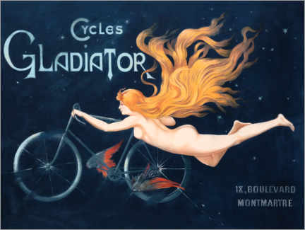 Akrylbillede  Cycles Gladiator - Georges Massias