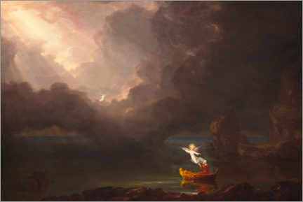 Akrylbillede  The journey of life: old age - Thomas Cole