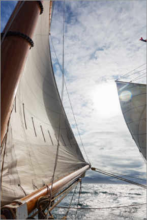 Premium-plakat  Wind in the sails - Caia Image