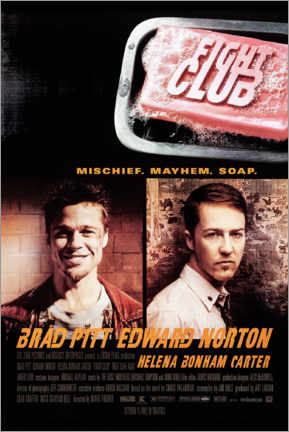 Print på aluminium  Fight Club - Entertainment Collection