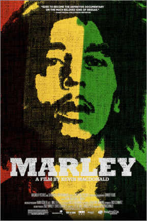 Selvklæbende plakat  Marley - Entertainment Collection