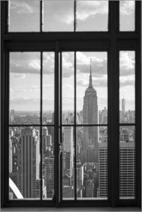 Akrylbillede  Empire State Building in New York City - Jan Christopher Becke