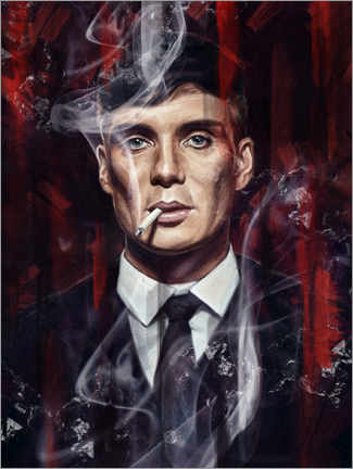 Print på træ  Peaky Blinders - Dmitry Belov