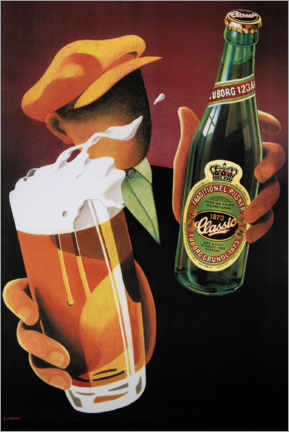 Akrylbillede  Tuborg Classic - Advertising Collection