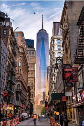 Lærredsbillede  One World Tower in New York - Mike Centioli