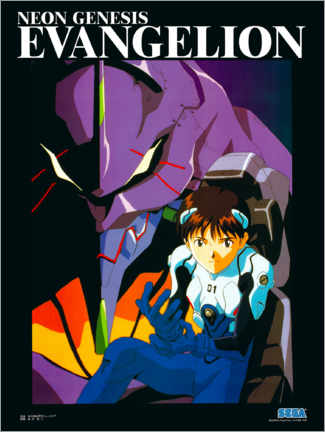 Print på skumplade  Neon Genesis Evangelion - Entertainment Collection