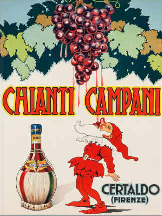 Akrylbillede  Chianti Campani - Advertising Collection