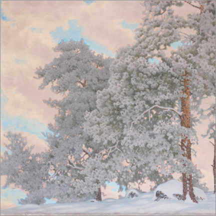 Premium-plakat Winter scene from Glava