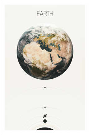 Premium-plakat Earth