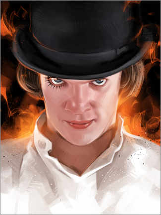 Premium-plakat A Clockwork Orange