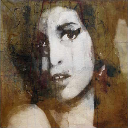 Lærredsbillede  Amy Winehouse - Paul Lovering