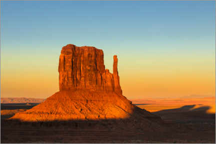 Premium-plakat Monument Valley at sunset