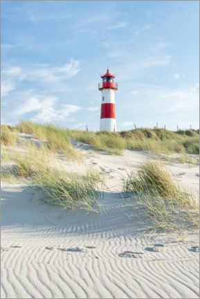 Akrylbillede  List Ost lighthouse on Sylt - Jan Christopher Becke