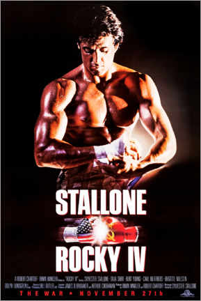 Akrylbillede  Rocky IV - Entertainment Collection