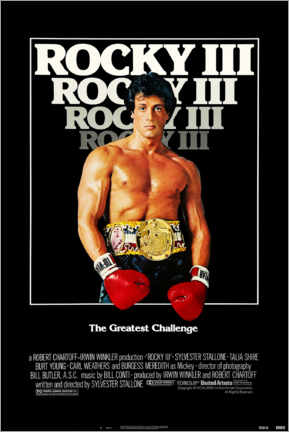Akrylbillede  Rocky III - Entertainment Collection