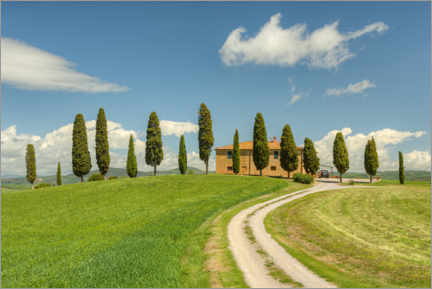 Premium-plakat Country house in Tuscany