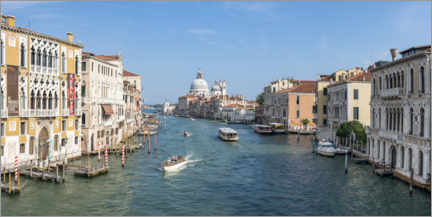 Premium-plakat Grand Canal in summer
