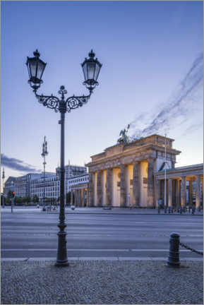 Premium-plakat  Brandenburg Gate at the Place of March 18th - Jan Christopher Becke