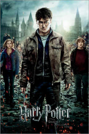 Premium-plakat  The Deathly Hallows II - Trio