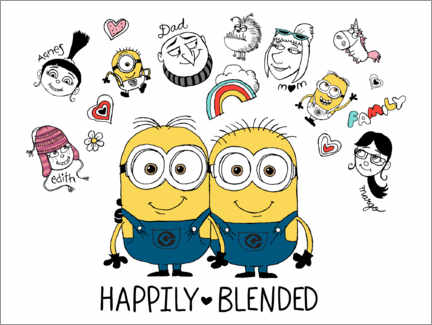 Premium-plakat  Despicable Me 3 - Happily Blended
