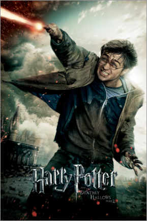 Premium-plakat  The Deathly Hallows II - Harry Potter Duel