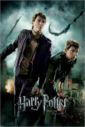 Premium-plakat  The Deathly Hallows II - Fred & George