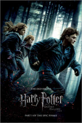 Premium-plakat  The Deathly Hallows I - Trio