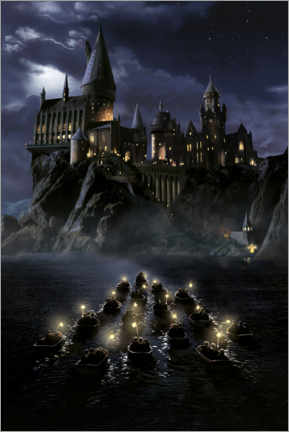 Premium-plakat  Harry Potter and the Philosopher's Stone, Hogwarts