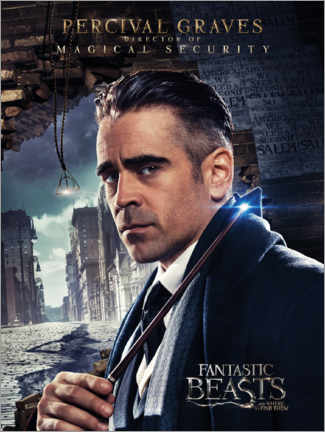 Premium-plakat  Fantastic Beasts and Where to Find Them - Percival Graves