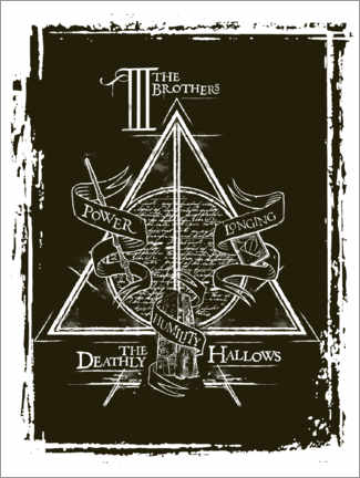 Premium-plakat  Peverell family - The Deathly Hallows