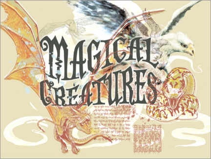 Premium-plakat  Magical Creatures
