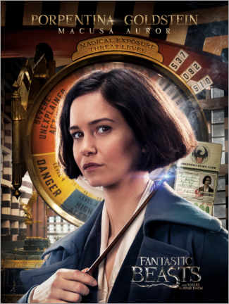 Premium-plakat  Fantastic Beasts and Where to Find Them - Porpentina Goldstein