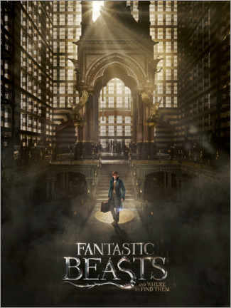Premium-plakat  Fantastic Beasts and Where to Find Them - Newt