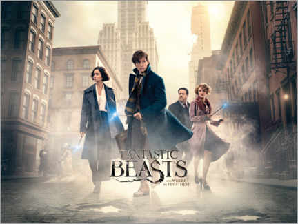 Premium-plakat  Fantastic Beasts and Where to Find Them - Theatrical poster