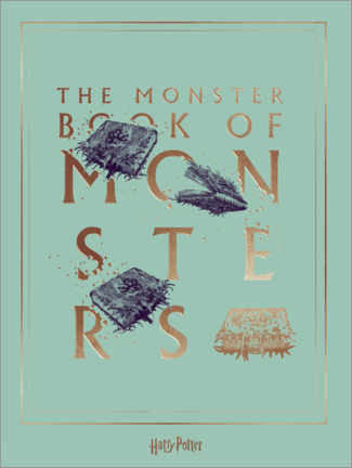 Premium-plakat  Harry Potter - The Book of Monsters