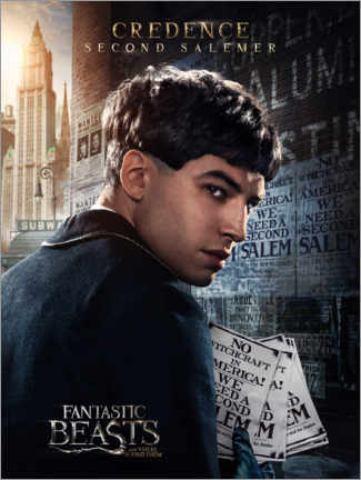 Premium-plakat  Fantastic Beasts and Where to Find Them - Credence Barebone