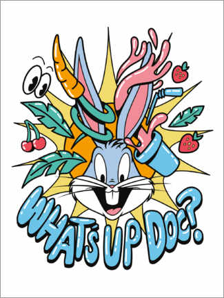Akrylbillede  Bugs Bunny - What's Up Doc?