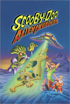 Galleritryk  Scooby-Doo And The Alien Invaders