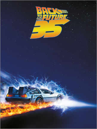 Premium-plakat  35 Years of Back to the future