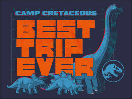 Premium-plakat  Camp Cretaceous - Best trip ever